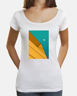 Turquoise Sky. Aplícalo sobre diferentes colores y estilos de camiseta de niño y adulto