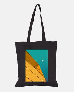 Turquoise Sky. Puedes aplicarlo sobre bolsa de tela color natural o negro