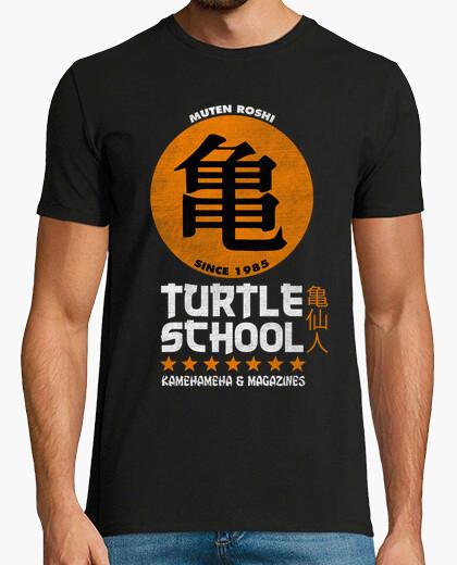 Camiseta Turtle school