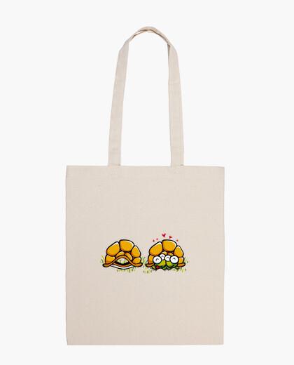 Turtles in love bag