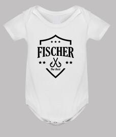 tuta del bebè pesca - pescatore - pesce