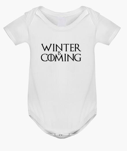 Abbigliamento bambino tuta del bebè winter sta arrivando - game of thrones