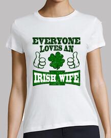 tutti amano una moglie irlandese