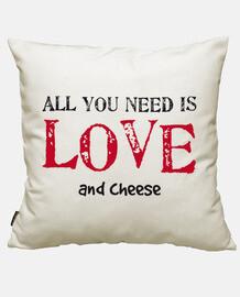 Tutto cio' di cui hai bisogno è amore e formaggio