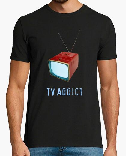 Camiseta TV addict...