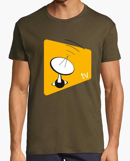 Camiseta Tv {boy}{brown}