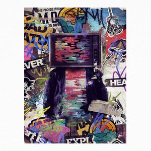 Tee-shirts tv street street art