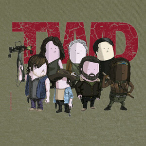 TWD by Calvichi's (WEB) T-shirts