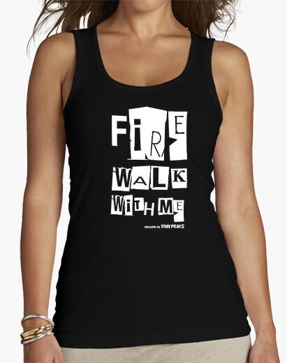 Twin peaks - fire walk with me t-shirt