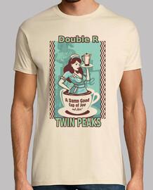 twin peaks. Double R