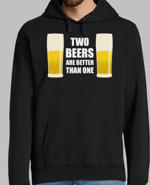 Two Beers are better than one