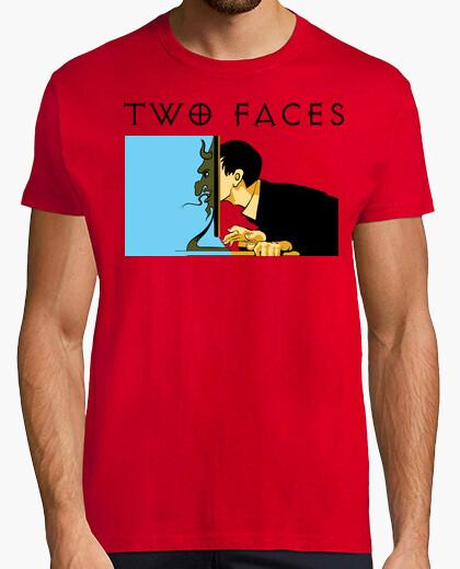 Camiseta Two Faces