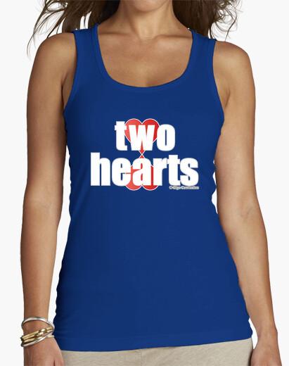 Camiseta TWO HEARTS white