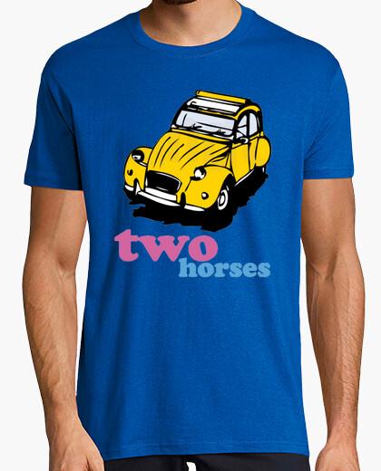 Camiseta Two horses