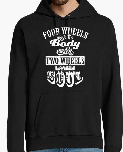 Jersey Two wheels blanco
