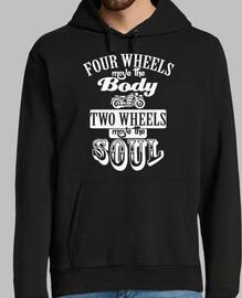 Two wheels blanco