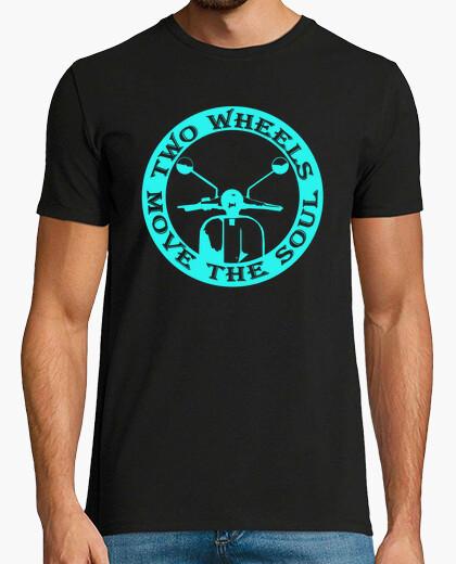 Camiseta Two wheels move the soul
