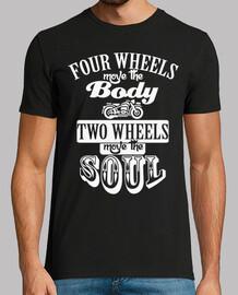two wheels white