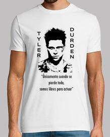 Tyler Durden, el club de la lucha