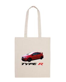 TYPE R fk2 red personalizado