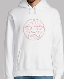 Typographie du piège du diable (rouge)