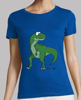 tyrannosaurus damen t-shirt