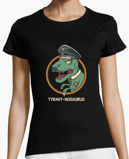 Camiseta tyrant-nosaurus camisa para mujer