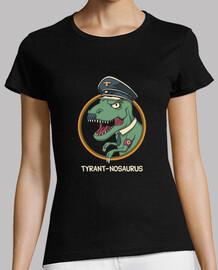 tyrant-nosaurus camisa para mujer