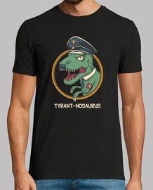 tyrant-nosaurus shirt mens