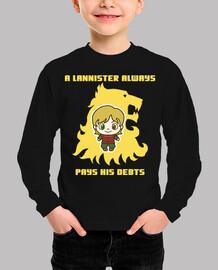 Tyrion Lannister. camiseta niño