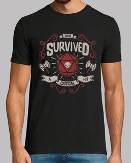 Überlebender des kritischen Schlags
