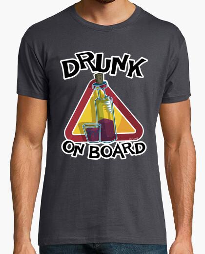 T-shirt ubriaco a bordo 2