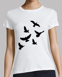 uccelli che volano