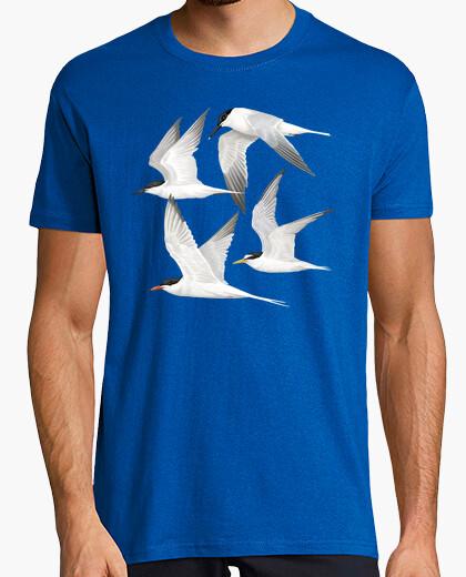 T-shirt uccelli marina s 1