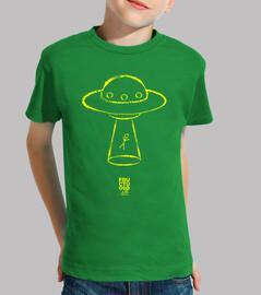 UFO amarillo niño