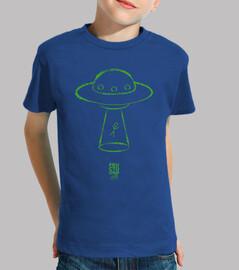UFO verde niño