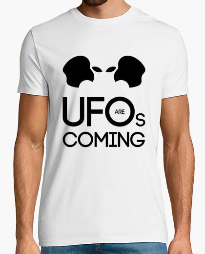 Camiseta UFOs are coming