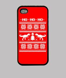 Ugly Dino iPhone 4 Navidad