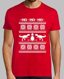 Ugly Dino Tee Navidad
