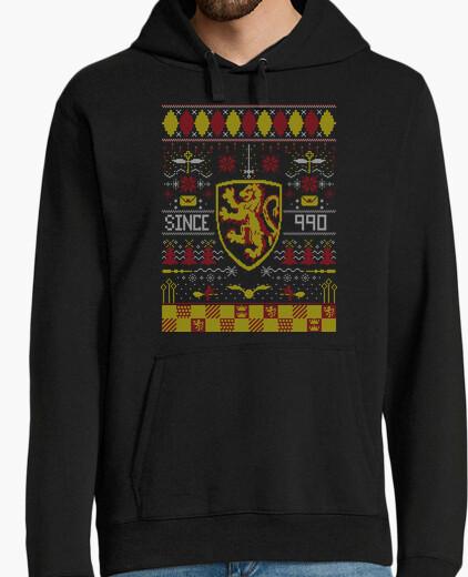 Felpa ugly maglione leone