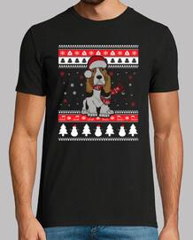 ugly noel basset hound dog