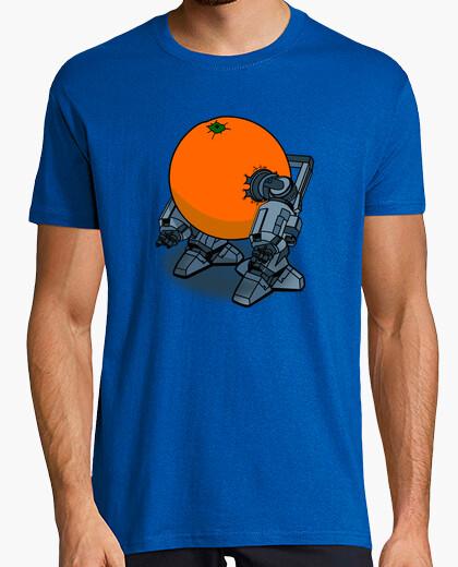 T-Shirt uhrwerk wick-orange.