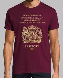 uk passaporto vintage