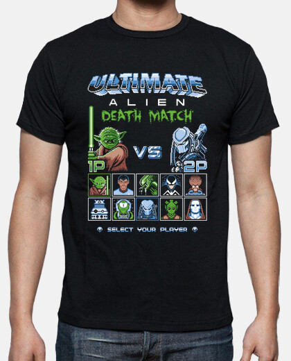 ultimate alien death match / 8bit gaming / mens