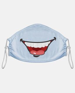 umorismo bocca denti divertente originale