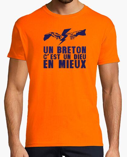 Tee-shirt un Breton c'est dieu en mieux