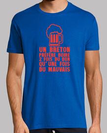 Un breton préfère boire du bon