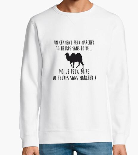 Sudadera un camello puede caminar 10 horas sin b