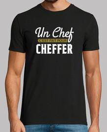 Un chef pour cheffer cadeau humour