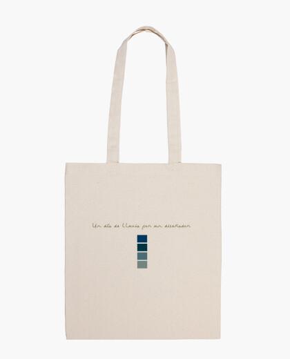 Bolsa Un día de lluvia por un diseñador